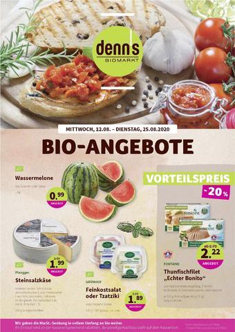 denn's Biomarkt Prospekt (bis einschl. 25-08)