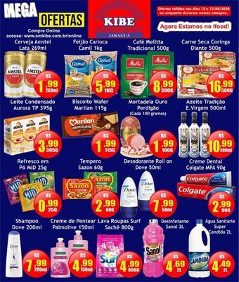 Supermercado Kibe catálogo promocional (válido de 10 até 17 13-08)