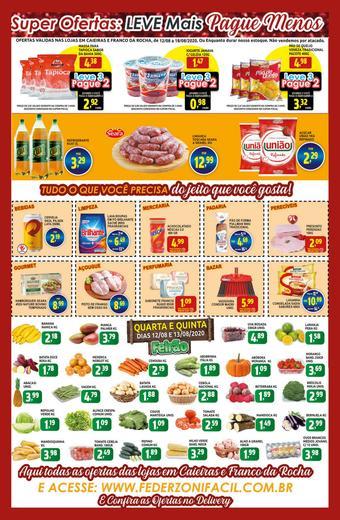 Federzoni Supermercados catálogo promocional (válido de 10 até 17 18-08)