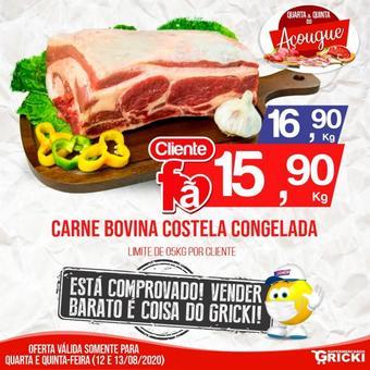 Supermercados Gricki catálogo promocional (válido de 10 até 17 13-08)