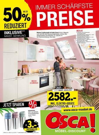 Osca Möbel Prospekt (bis einschl. 01-09)