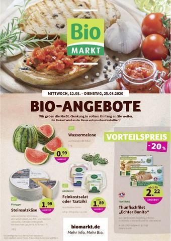 Aleco Biomarkt Prospekt (bis einschl. 25-08)