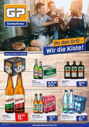 GetränkePartner Prospekt (bis einschl. 15-08)