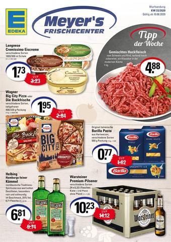 Meyer's Frischemarkt Prospekt (bis einschl. 15-08)
