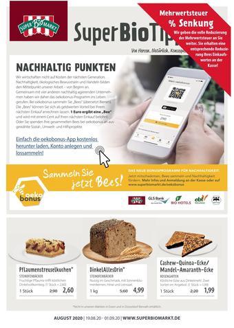Superbiomarkt Prospekt (bis einschl. 01-09)