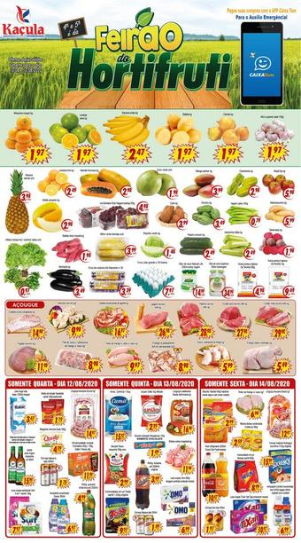 Kaçula Supermercados catálogo promocional (válido de 10 até 17 14-08)
