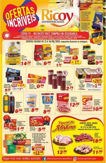 Ricoy Supermercados catálogo promocional (válido de 10 até 17 18-08)