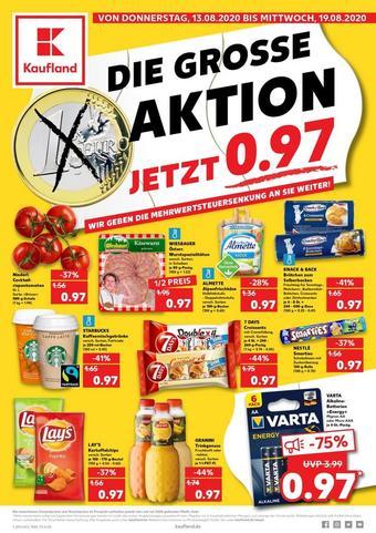 Kaufland reclame folder (geldig t/m 19-08)