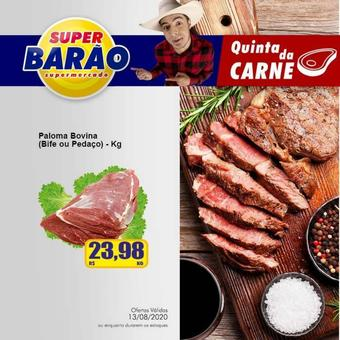 Super Barão catálogo promocional (válido de 10 até 17 13-08)