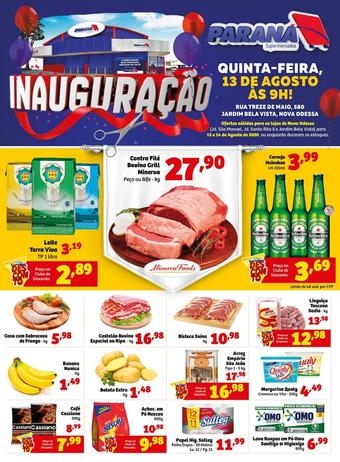 Supermercados Paraná catálogo promocional (válido de 10 até 17 14-08)