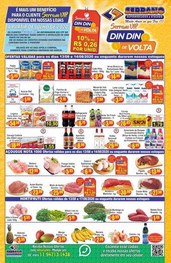 Serrano Supermercado catálogo promocional (válido de 10 até 17 14-08)