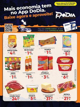 DoDia Supermercado catálogo promocional (válido de 10 até 17 19-08)