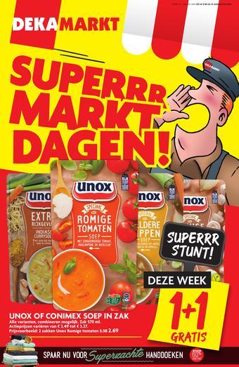 Dekamarkt reclame folder (geldig t/m 22-08)