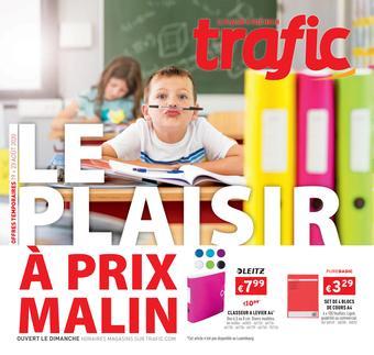 Trafic reclame folder (geldig t/m 24-08)