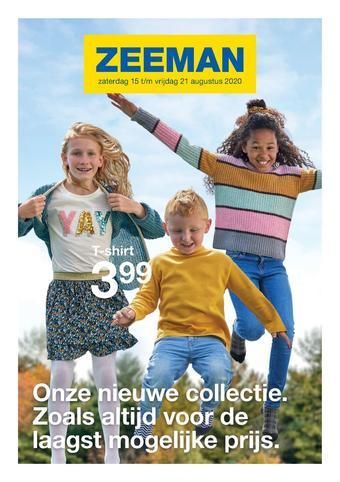 Zeeman reclame folder (geldig t/m 21-08)