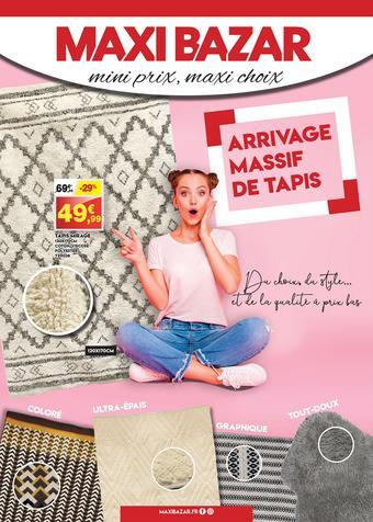 Maxi Bazar catalogue publicitaire (valable jusqu'au 19-09)