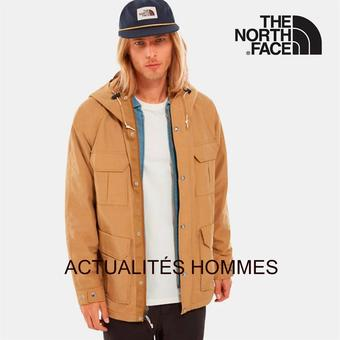 The North Face catalogue publicitaire (valable jusqu'au 12-10)