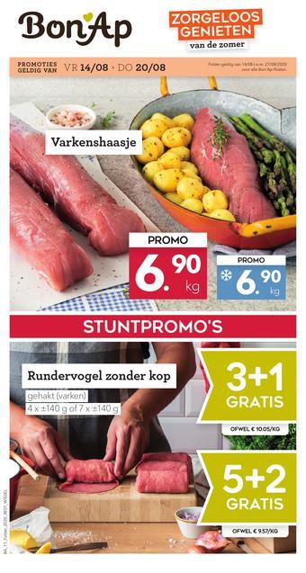 Bon Ap reclame folder (geldig t/m 27-08)