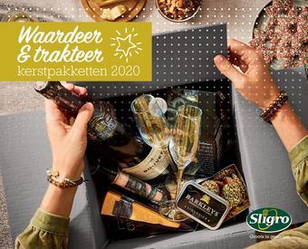 Sligro reclame folder (geldig t/m 27-12)