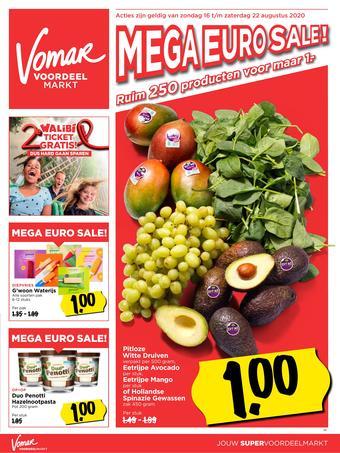 Vomar reclame folder (geldig t/m 22-08)