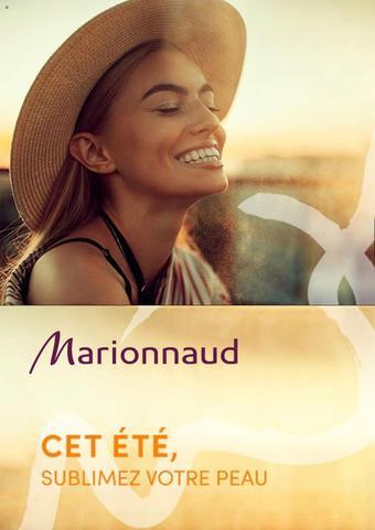 Marionnaud catalogue publicitaire (valable jusqu'au 30-09)