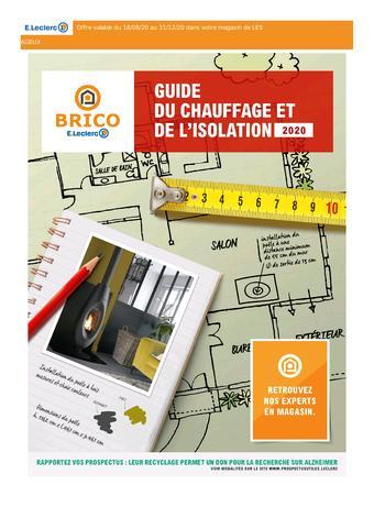 E.Leclerc Brico catalogue publicitaire (valable jusqu'au 31-12)