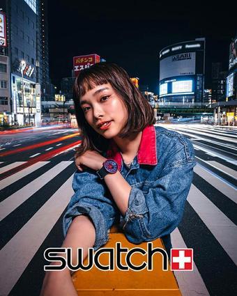 Swatch catalogue publicitaire (valable jusqu'au 14-10)