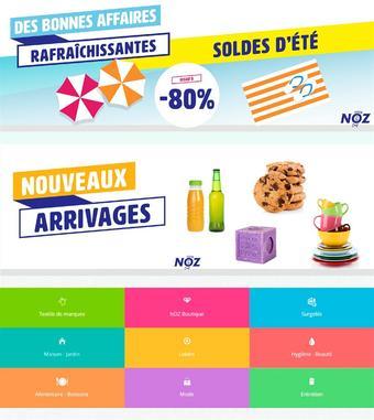 Noz catalogue publicitaire (valable jusqu'au 12-10)