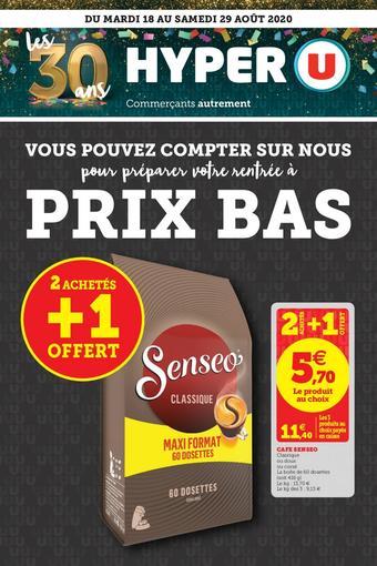 Hyper U Catalogue Toutes Les Promotions Dans Les Nouveaux Hyper U Catalogues