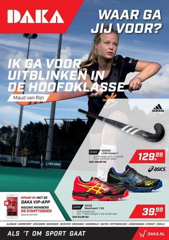 Daka Sport reclame folder (geldig t/m 30-09)