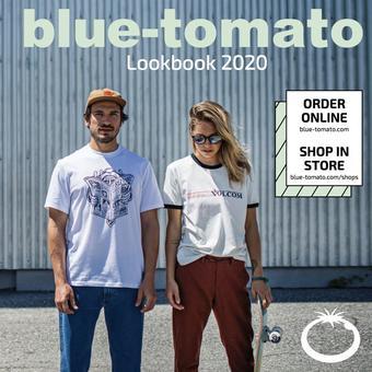 Blue Tomato reclame folder (geldig t/m 31-12)