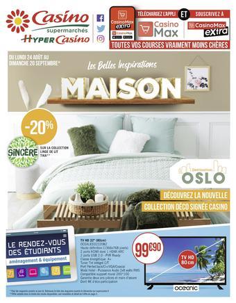 Casino Supermarchés catalogue publicitaire (valable jusqu'au 20-09)