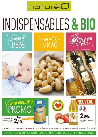 naturéO catalogue publicitaire (valable jusqu'au 27-09)