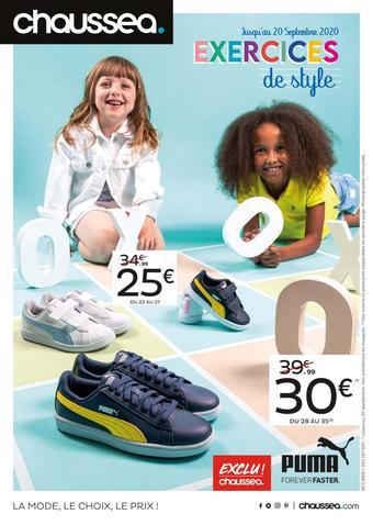 Chaussea catalogue publicitaire (valable jusqu'au 20-09)