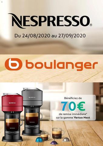 Boulanger catalogue publicitaire (valable jusqu'au 27-09)