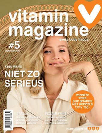 Vitaminstore reclame folder (geldig t/m 30-09)