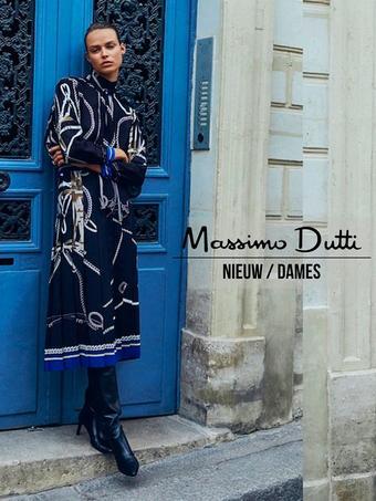 Massimo Dutti reclame folder (geldig t/m 27-10)