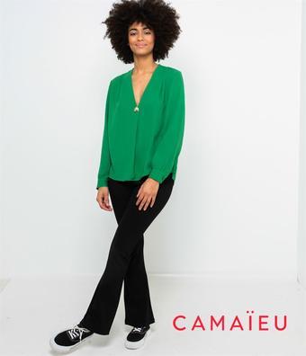 Camaieu reclame folder (geldig t/m 12-10)