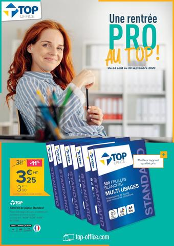 Top Office catalogue publicitaire (valable jusqu'au 30-09)