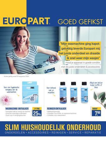 Europart reclame folder (geldig t/m 30-09)
