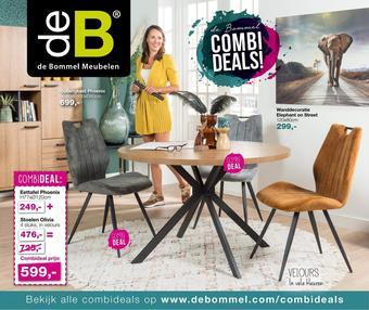 De Bommel Meubelen reclame folder (geldig t/m 04-10)