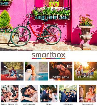 Smartbox catalogue publicitaire (valable jusqu'au 14-10)