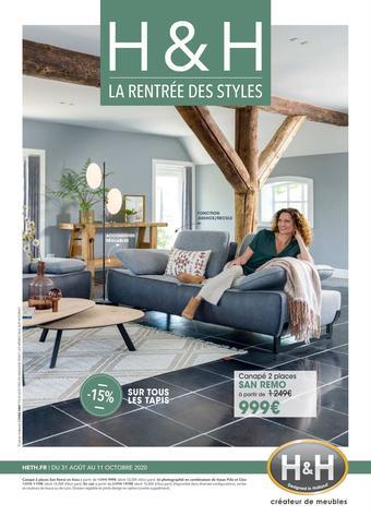 H&H catalogue publicitaire (valable jusqu'au 11-10)