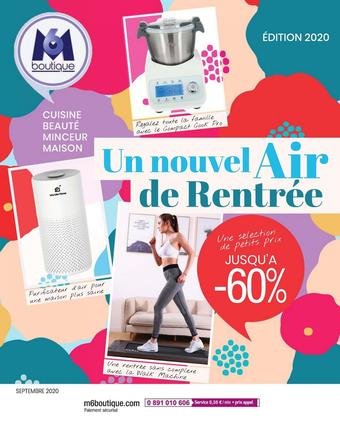 M6 Boutique catalogue publicitaire (valable jusqu'au 30-09)