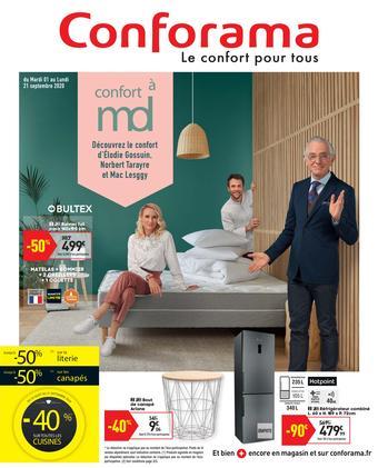 Conforama catalogue publicitaire (valable jusqu'au 21-09)