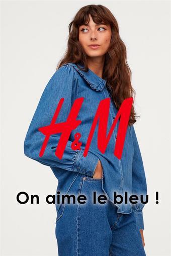 H&M catalogue publicitaire (valable jusqu'au 12-10)