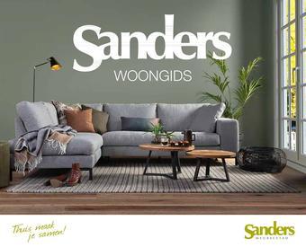 Sanders Meubelstad reclame folder (geldig t/m 31-12)