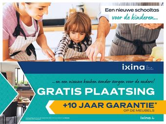 Ixina reclame folder (geldig t/m 30-09)