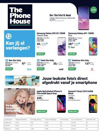 Phone House reclame folder (geldig t/m 30-09)
