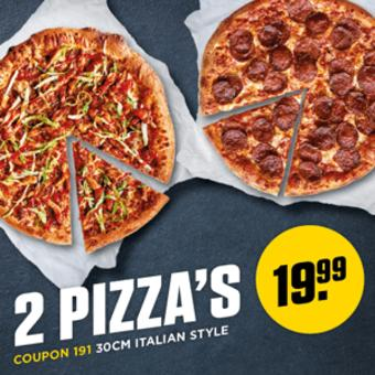 New York Pizza reclame folder (geldig t/m 30-09)